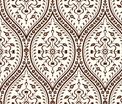 Serpentine 784b fabric by muhlenkott on Spoonflower - custom fabric
