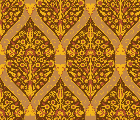 Serpentine 783 fabric by muhlenkott on Spoonflower - custom fabric