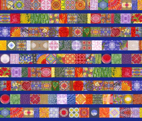 coordinate_stripes fabric by kymnicolas on Spoonflower - custom fabric