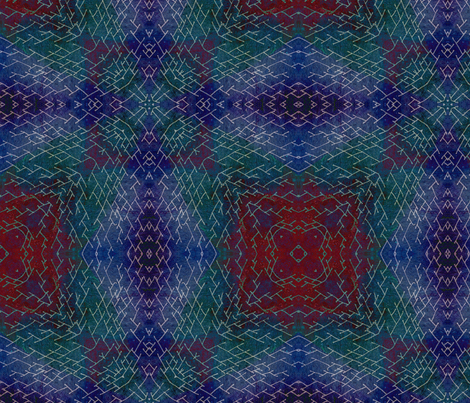 Hand Drawn Winter fabric by feebeedee on Spoonflower - custom fabric