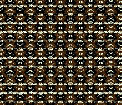 Donkey Kong Tessellation fabric by elusiveillusion on Spoonflower - custom fabric