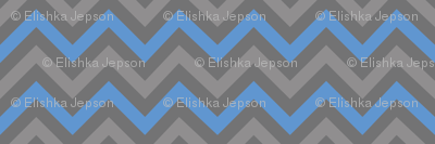 Robot Chevron (Blue)