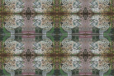 Urbane Rococo Renewal fabric by susaninparis on Spoonflower - custom fabric