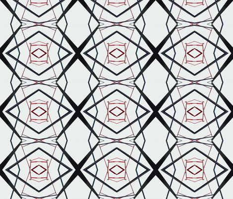 Geomatters 1 fabric by susaninparis on Spoonflower - custom fabric