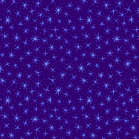 stellate whimsy in purple fabric by weavingmajor on Spoonflower - custom fabric