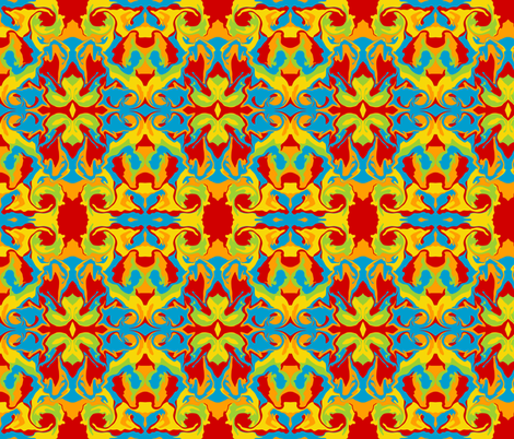 distortionecstatic fabric by thetwistedcow on Spoonflower - custom fabric