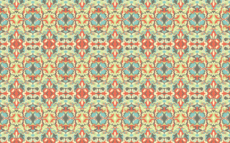 Distortion - Spirit fabric by thetwistedcow on Spoonflower - custom fabric