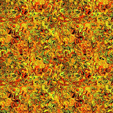 marbled fire fabric by elarnia on Spoonflower - custom fabric