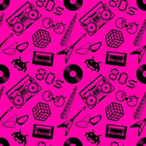 Rrrgirls_rock_80s_pattern_on_hot_pink_shop_preview