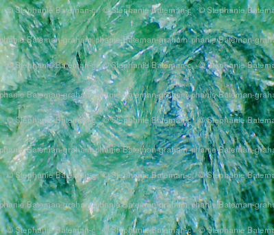 Brushstrokes In Green (Seraphinite)