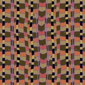 Snake Bed (Coral)