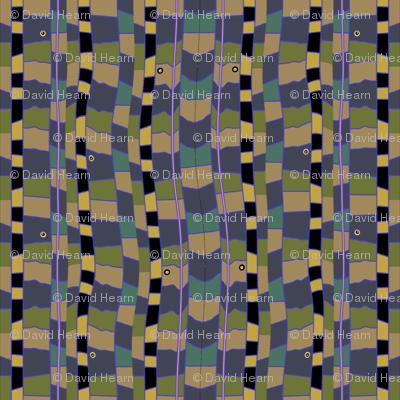 Snake Bed (Blue)