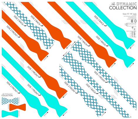 BOWTIE DIY: Dynamic Collection fabric by avelis on Spoonflower - custom fabric