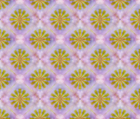Purple and Gold fabric by feebeedee on Spoonflower - custom fabric