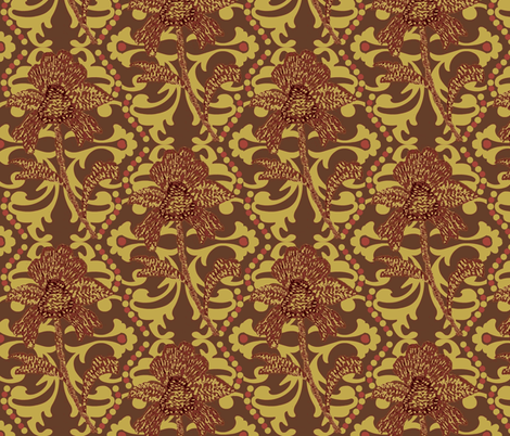 indian spice #4 fabric by paragonstudios on Spoonflower - custom fabric