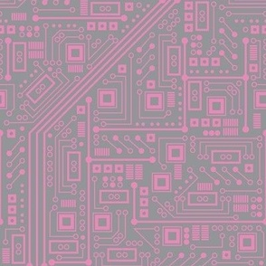 Robotika Circuit Board (Pink and Gray)
