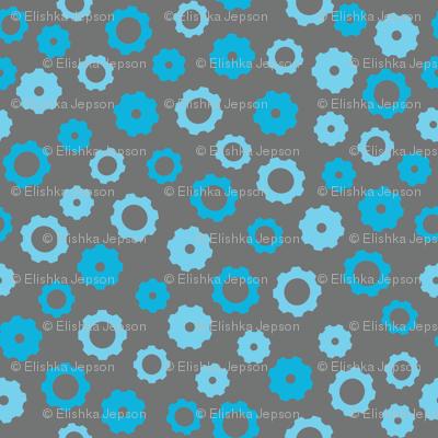 Robotika Gears (Blue)