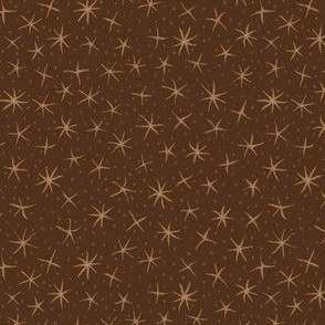 stellate whimsy - oak brown