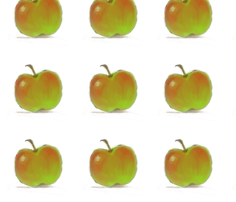 Apple for Teacher fabric by seworegon on Spoonflower - custom fabric