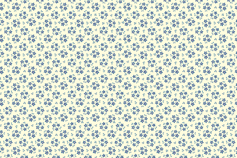 Floral on White fabric by chez_beccy on Spoonflower - custom fabric