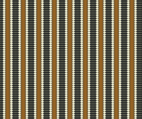 School Days Marbles Vertical Stripe fabric by anniedeb on Spoonflower - custom fabric