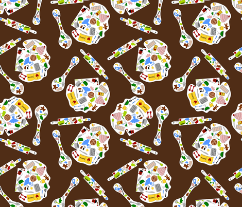 Baking fabric by loopy_canadian on Spoonflower - custom fabric