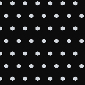 Hexagon Polka Dots