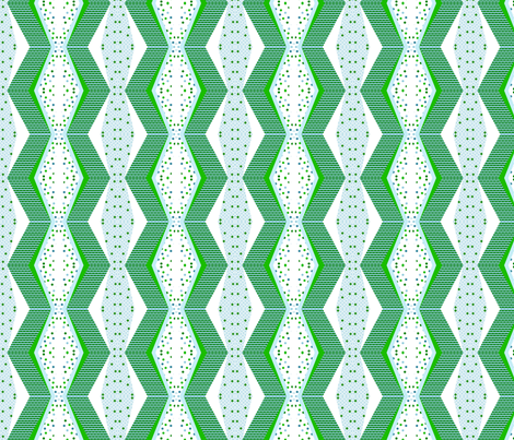 Wonky Chevron Cheater (Seabreeze) fabric by stitching_dvm on Spoonflower - custom fabric