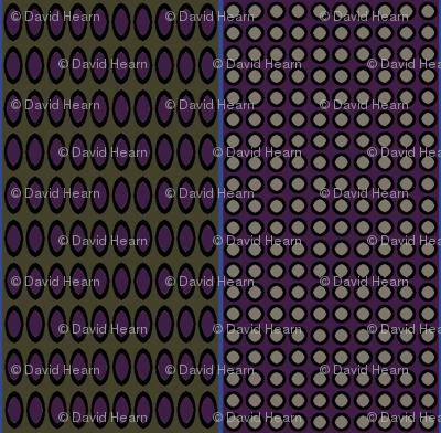 Paisley Circles (Eggplant)