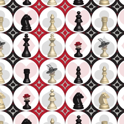 Pawn Games fabric by mag-o on Spoonflower - custom fabric