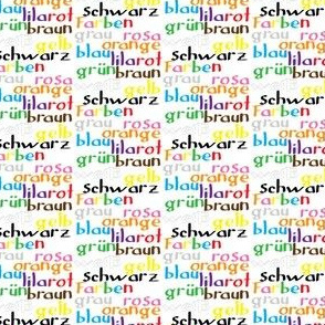 German Colour Words