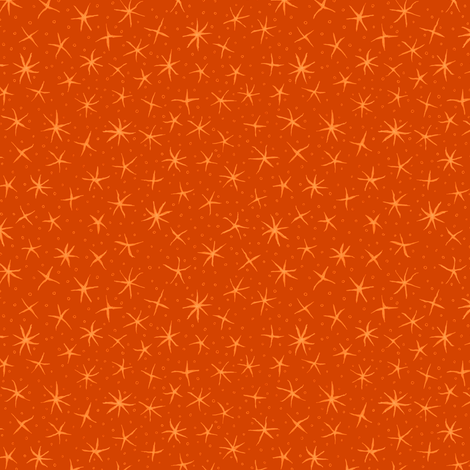 stellate whimsy - autumn fabric by weavingmajor on Spoonflower - custom fabric