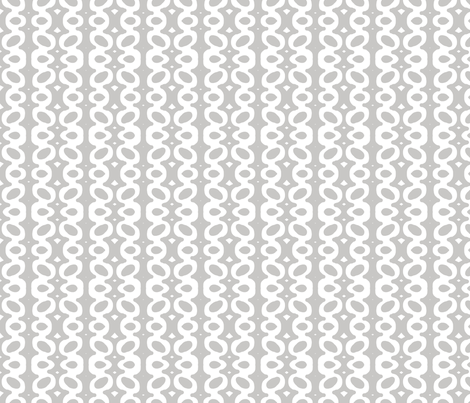 Egg Drop Stripe (white & dove grey) fabric by pattyryboltdesigns on Spoonflower - custom fabric