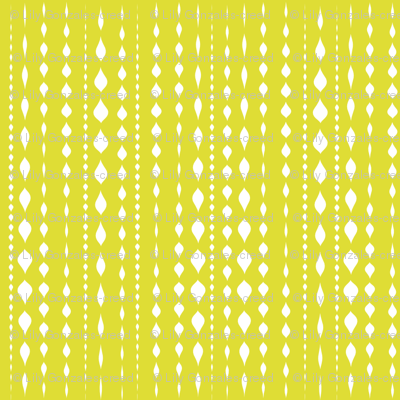 Dot Stripe Chartreuse
