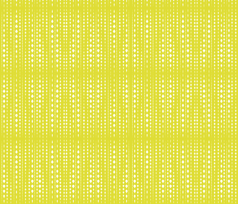 Dot Stripe Chartreuse fabric by lkglioness on Spoonflower - custom fabric