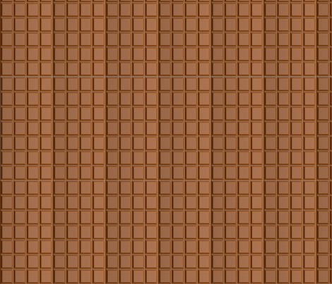 LeChoco fabric by nai_da on Spoonflower - custom fabric