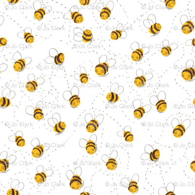 Busy buzzy bumble bees