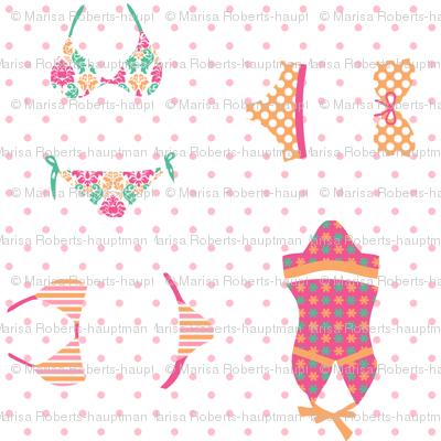 Pink Bikinis