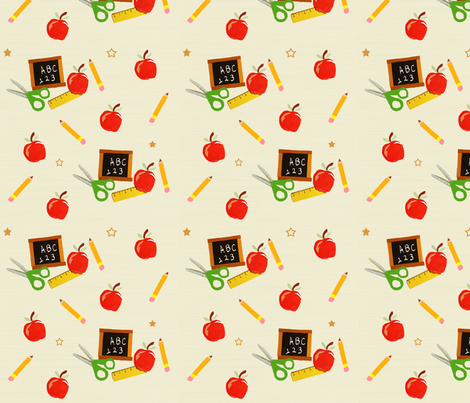 School Days fabric by arttreedesigns on Spoonflower - custom fabric