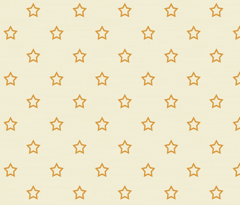 Gold Stars fabric by arttreedesigns on Spoonflower - custom fabric