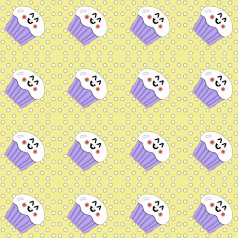 Happy Cakes 1.2 fabric by kalliopekat on Spoonflower - custom fabric