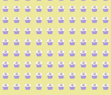 Happy Cakes 1.1 fabric by kalliopekat on Spoonflower - custom fabric