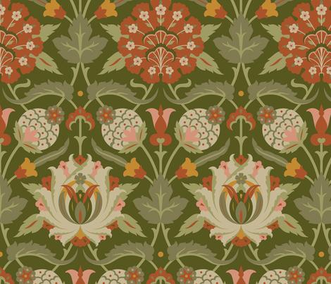 Serpentine 836b fabric by muhlenkott on Spoonflower - custom fabric