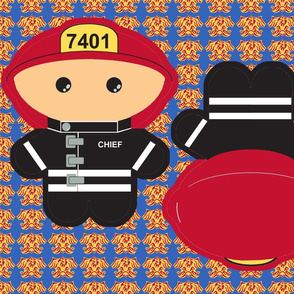 Kawaii Fireman - Fire Chief