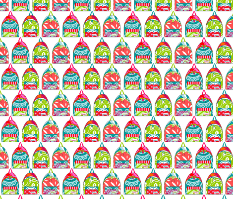 School bag fabric by rosapomposa on Spoonflower - custom fabric
