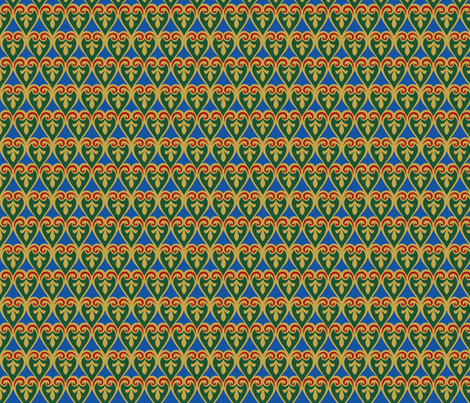 classic regency style fabric by unseen_gallery_fabrics on Spoonflower - custom fabric