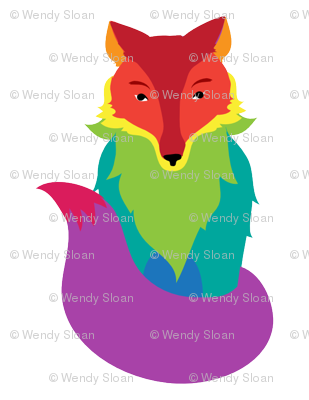 fox_rainbow