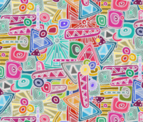 precious fabric by scrummy on Spoonflower - custom fabric