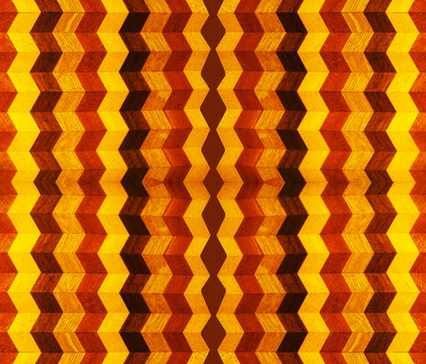 I Could Have Danced All Night Chevron Cheater Quilt fabric by donna_kallner on Spoonflower - custom fabric