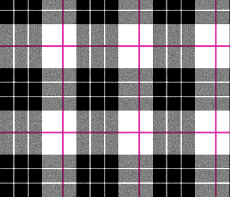 Plaid ~ Tori fabric by peacoquettedesigns on Spoonflower - custom fabric